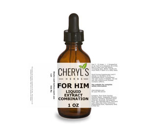 FOR HIM LIQUID EXTRACT COMBINATION - Cheryls Herbs