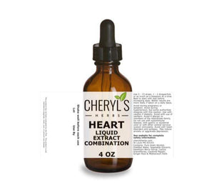 HEART LIQUID EXTRACT COMBINATION - Cheryls Herbs