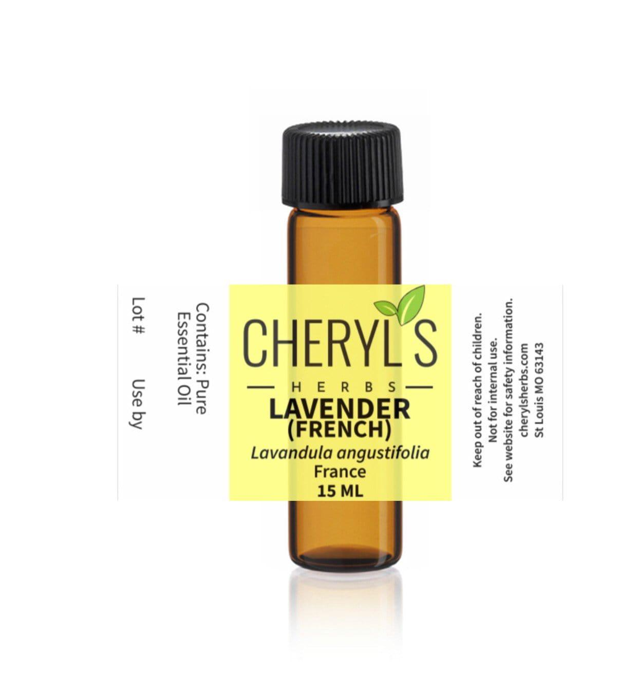 LAVENDER FRANCE ESSENTIAL OIL - Cheryls Herbs