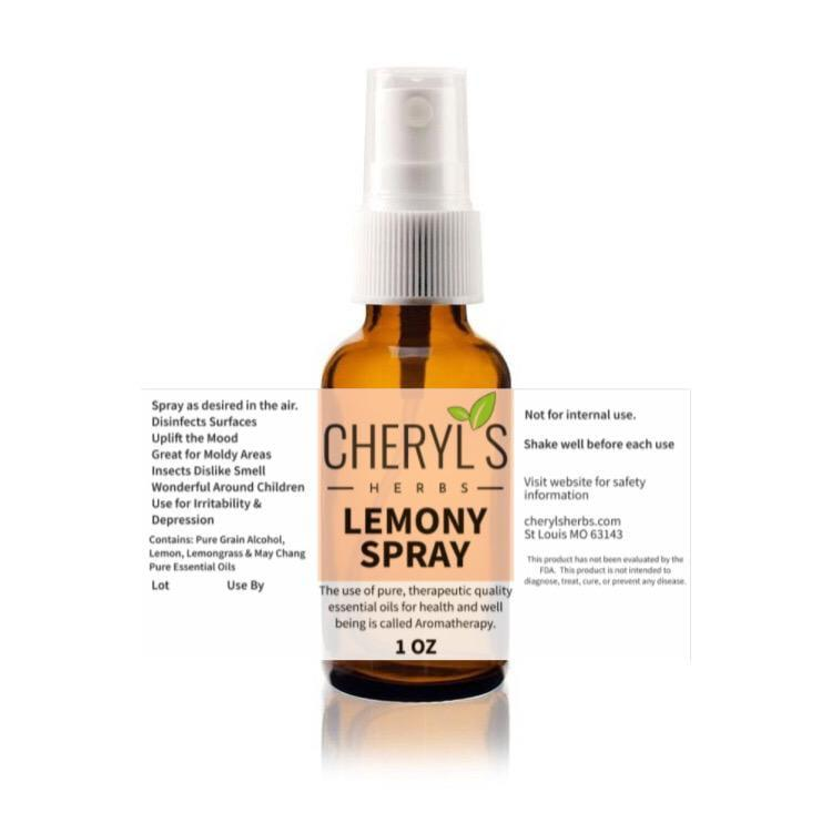 LEMONY SPRAY - Cheryls Herbs