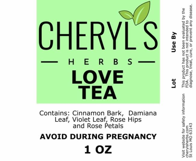 LOVE TEA - Cheryls Herbs