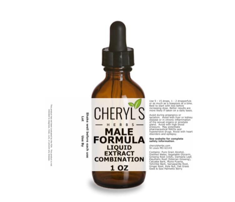 MALE FORMULA LIQUID EXTRACT COMBINATION - Cheryls Herbs