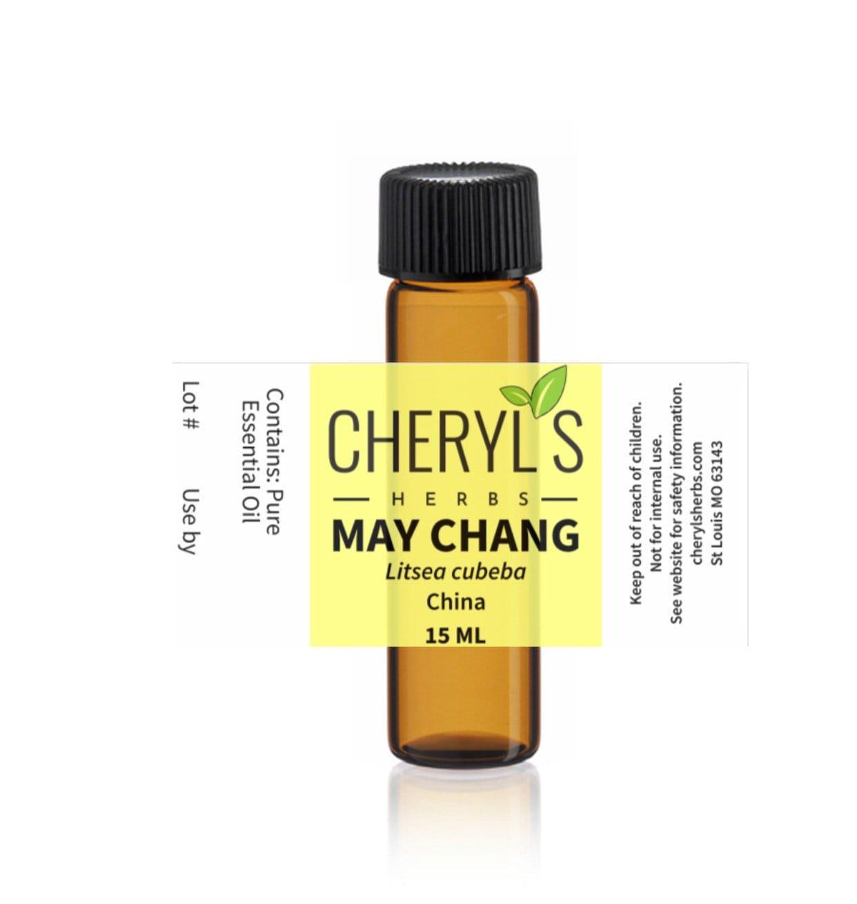 MAY CHANG ESSENTIAL OIL - Cheryls Herbs