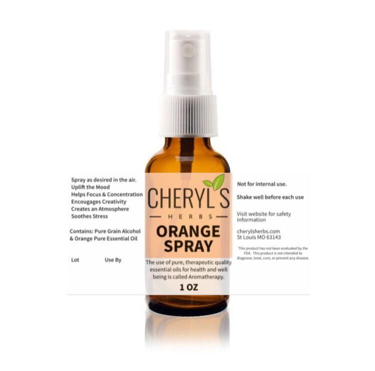 ORANGE SPRAY - Cheryls Herbs