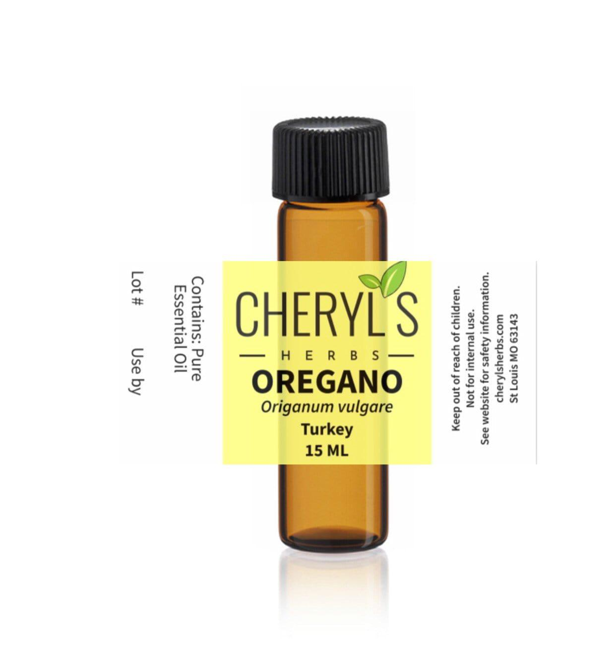 OREGANO 90% Carvacrol ESSENTIAL OIL - Cheryls Herbs