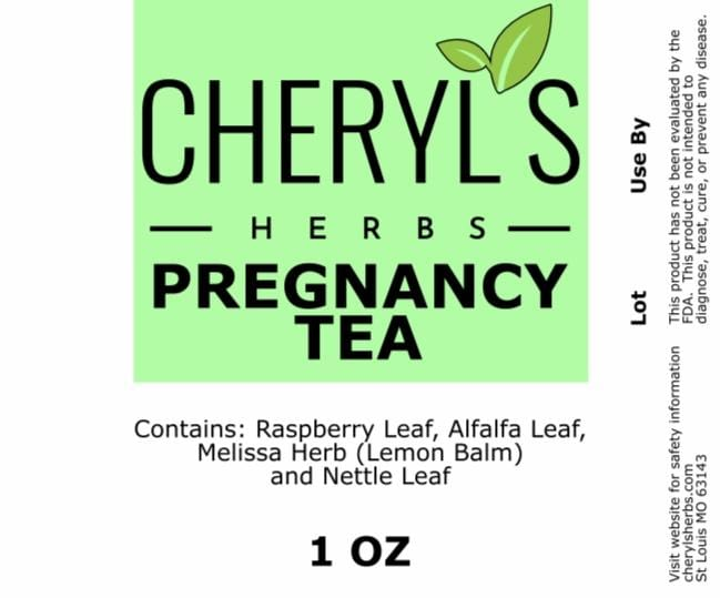 PREGNANCY TEA - Cheryls Herbs