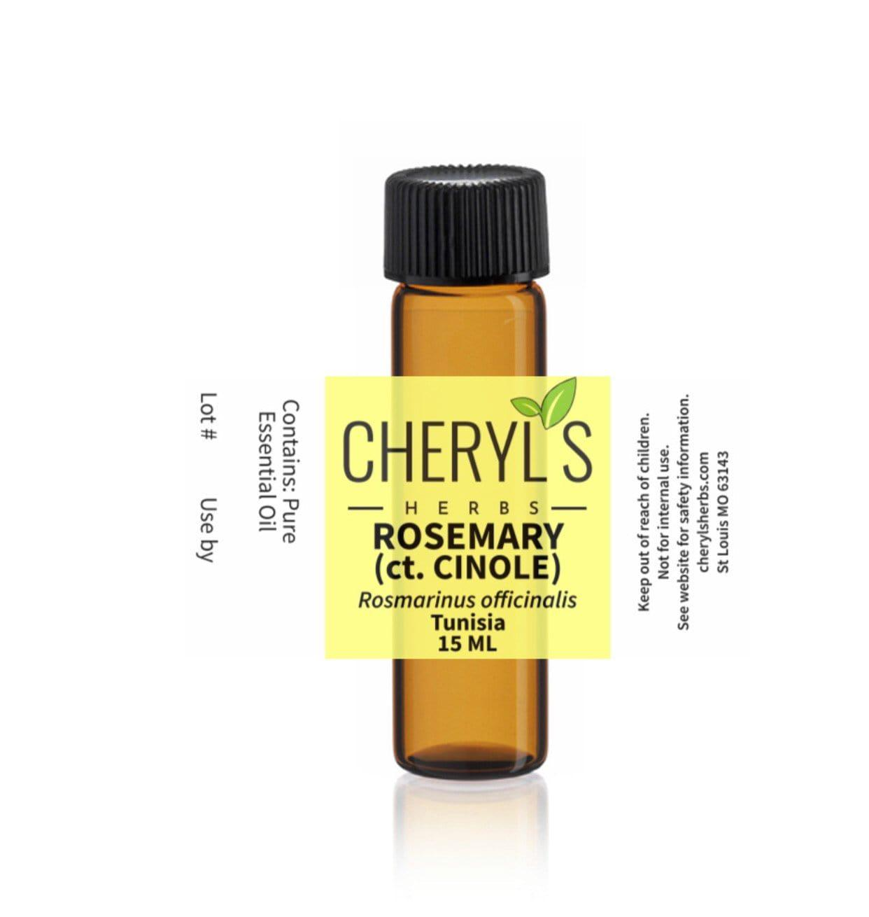 ROSEMARY ct. Cineole ESSENTIAL OIL - Cheryls Herbs