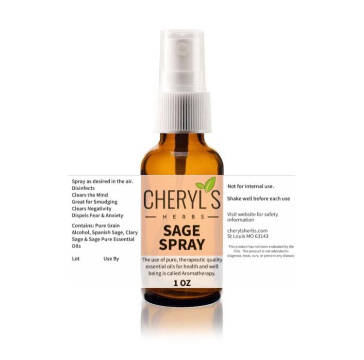 SAGE SPRAY - Cheryls Herbs