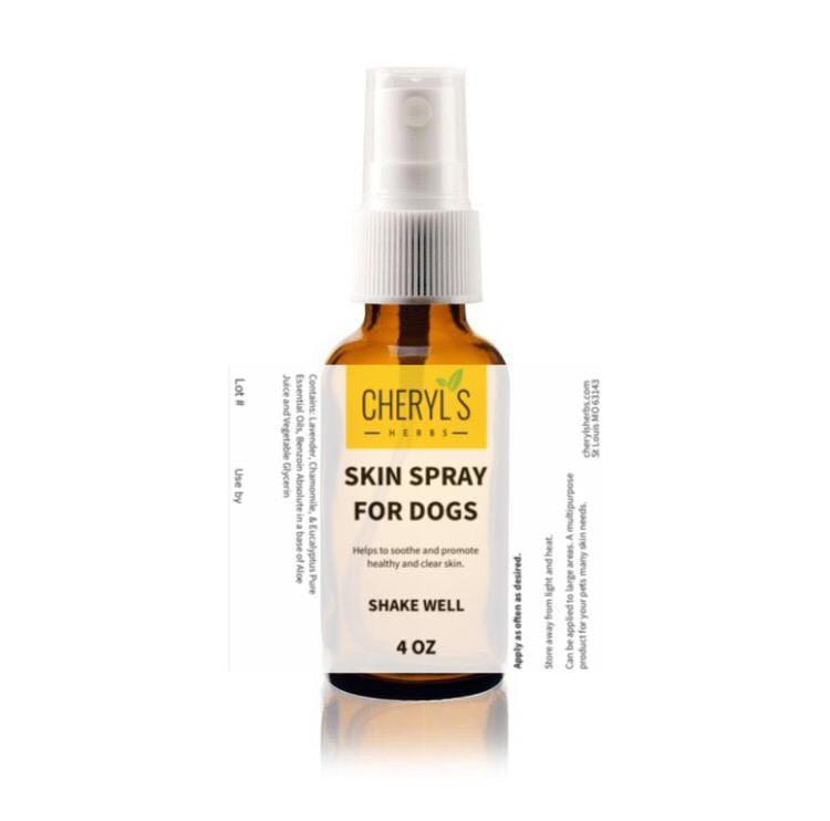 SKIN SPRAY FOR DOGS - Cheryls Herbs
