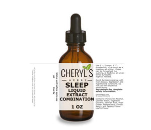 SLEEP LIQUID EXTRACT COMBINATION - Cheryls Herbs