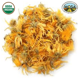 CALENDULA FLOWER whole - 100% ORGANIC - Cheryls Herbs