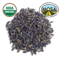 LAVENDER FLOWER whole - CERTIFIED ORGANIC - Cheryls Herbs