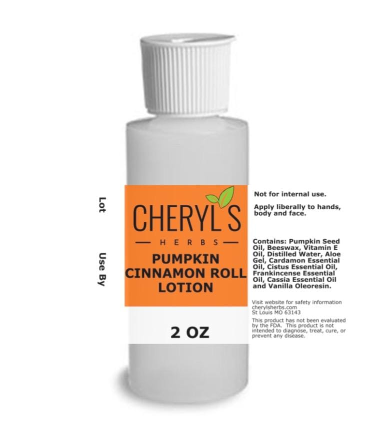 PUMPKIN CINNAMON ROLL LOTION - Cheryls Herbs
