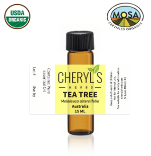 TEA TREE ESSENTIAL OIL - 100% ORGANIC - Cheryls Herbs