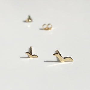 Gold Lasta earrings