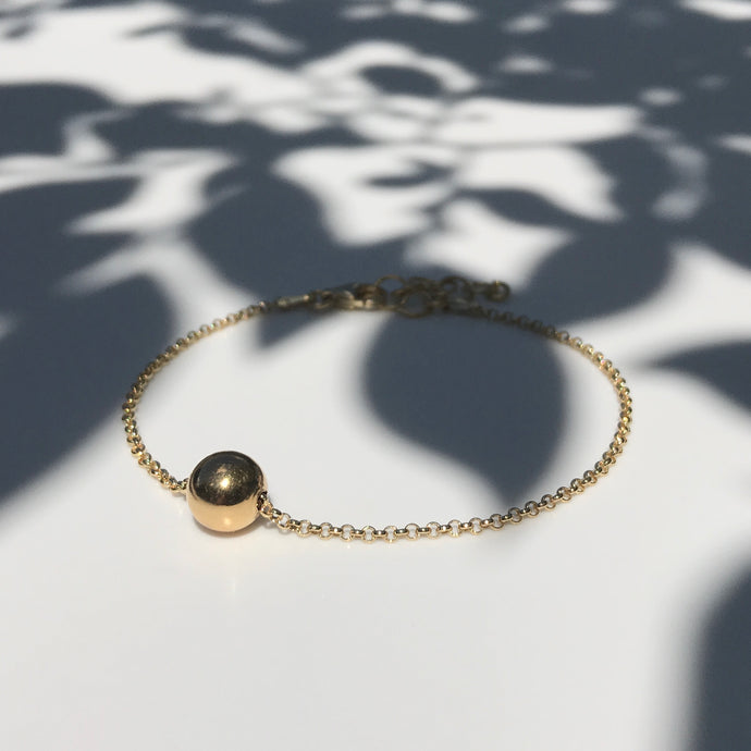 Gold Krystle Ball bracelet