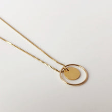 Load image into Gallery viewer, Gold Maria necklace