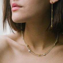 Load image into Gallery viewer, Gold Knotty choker