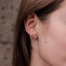 Load image into Gallery viewer, Silver Ines earrings