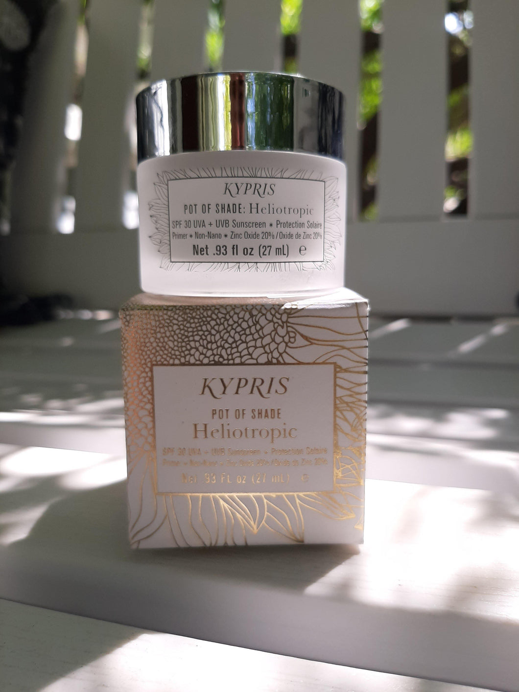 Kypris Pot of Shade Heliotropic SPF - Carasoin