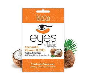 ToGoSpa Coconut and Vitamin D EYES - Carasoin