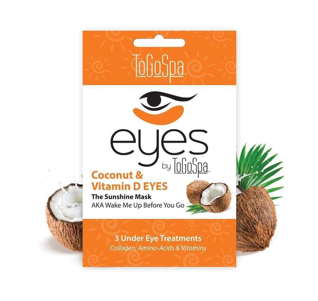 ToGoSpa Coconut and Vitamin D EYES