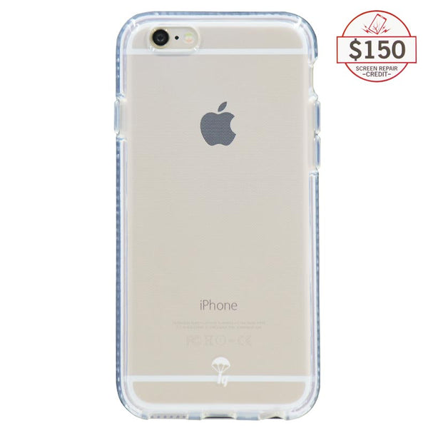 Ultra-thin protective case + Insured Gadgets up to $150.00 protection for iPhone 6 & iPhone 6S - White