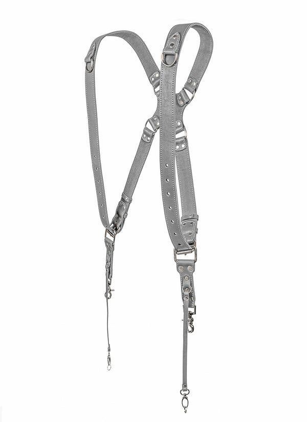 Grey Dual Camera Harness