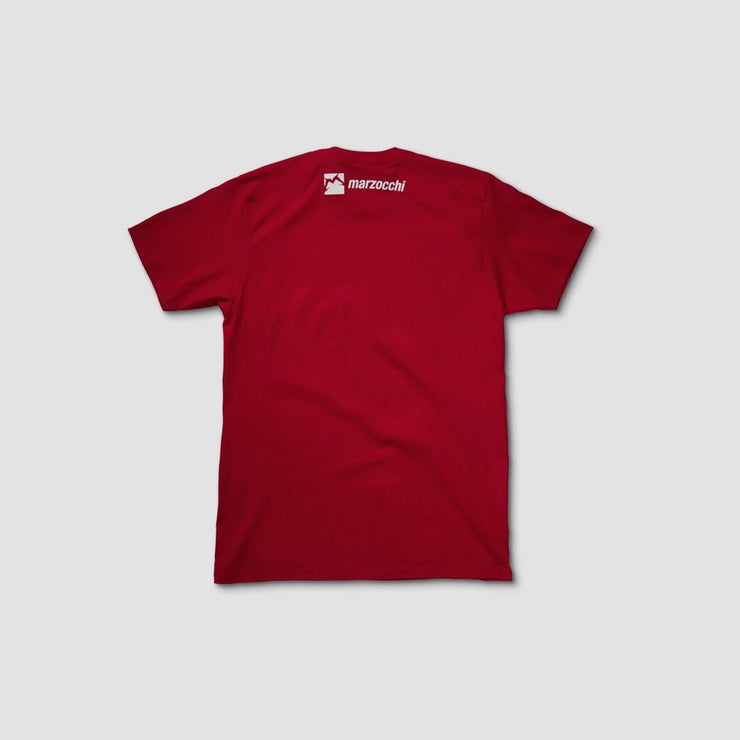 Men's Marzocchi Tee Red