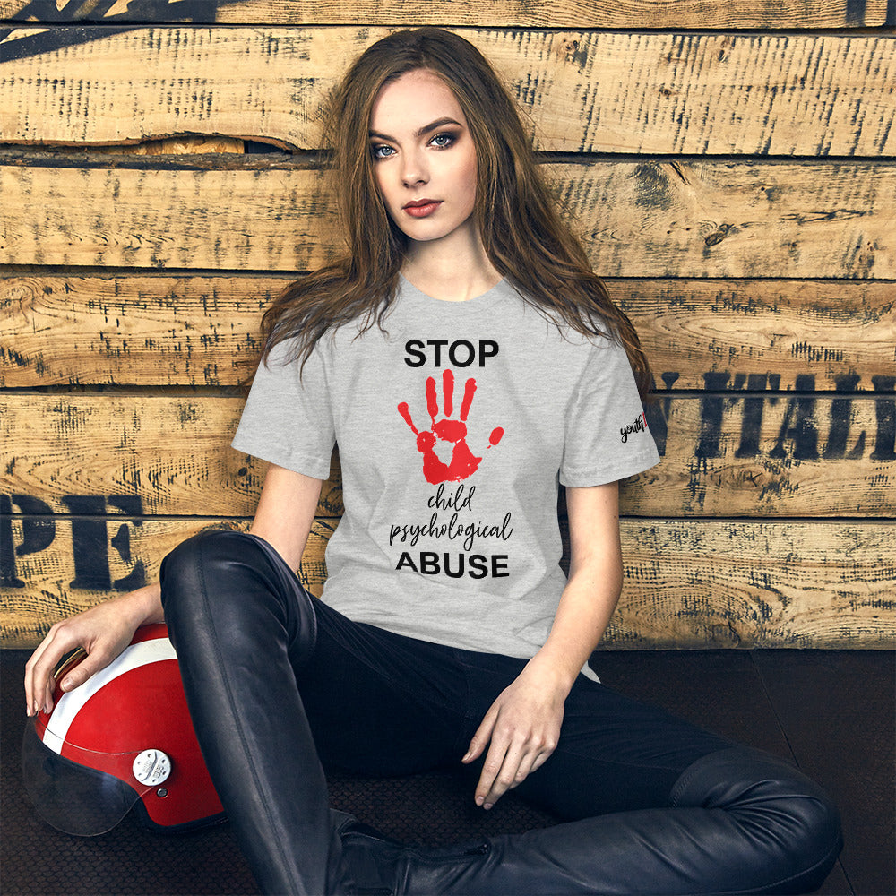 STOP MENTAL CHILD PSYCHOLOGICAL ABUSE SHIRT