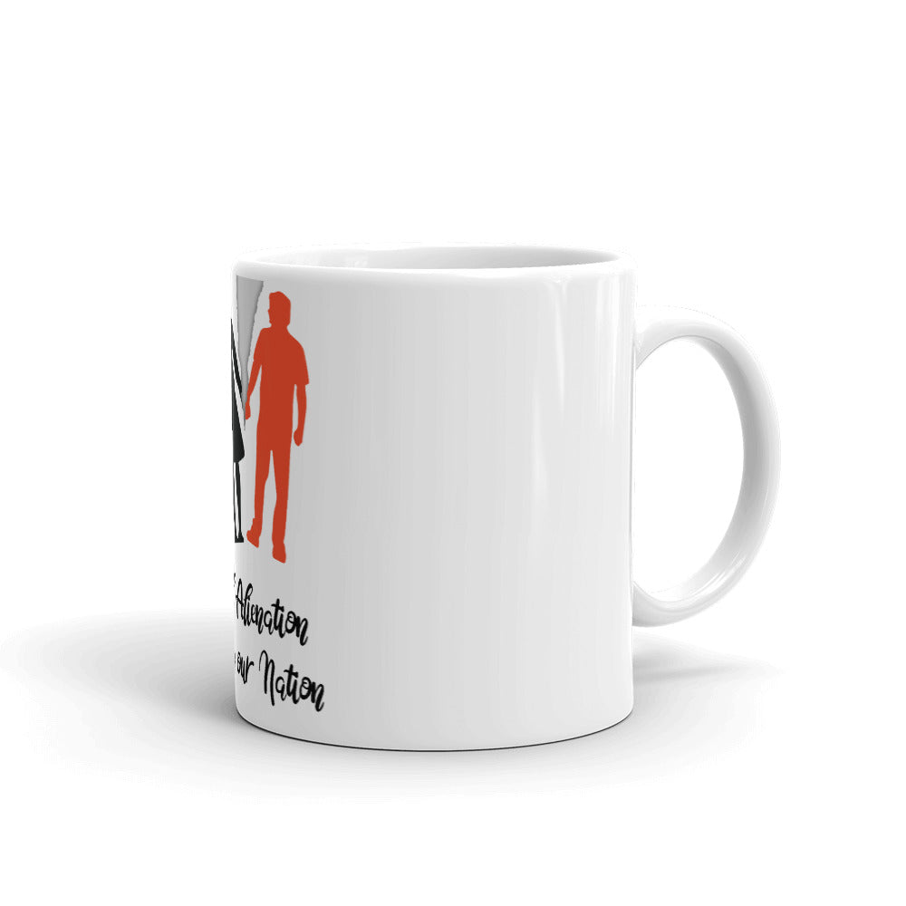 PARENTAL ALIENATION  DESTROYING OUR NATION MUG