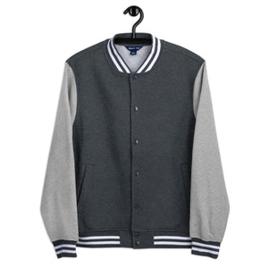 STOP CHILD PSYCHOLOGICAL ABUSE MEN'S LETTERMAN JACKET
