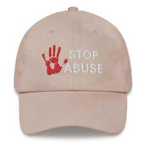 STOP ABUSE HAT