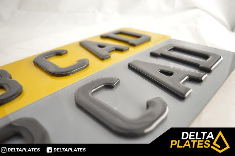 3D GEL's on 4D Black laser cut - TINTED PLATES!