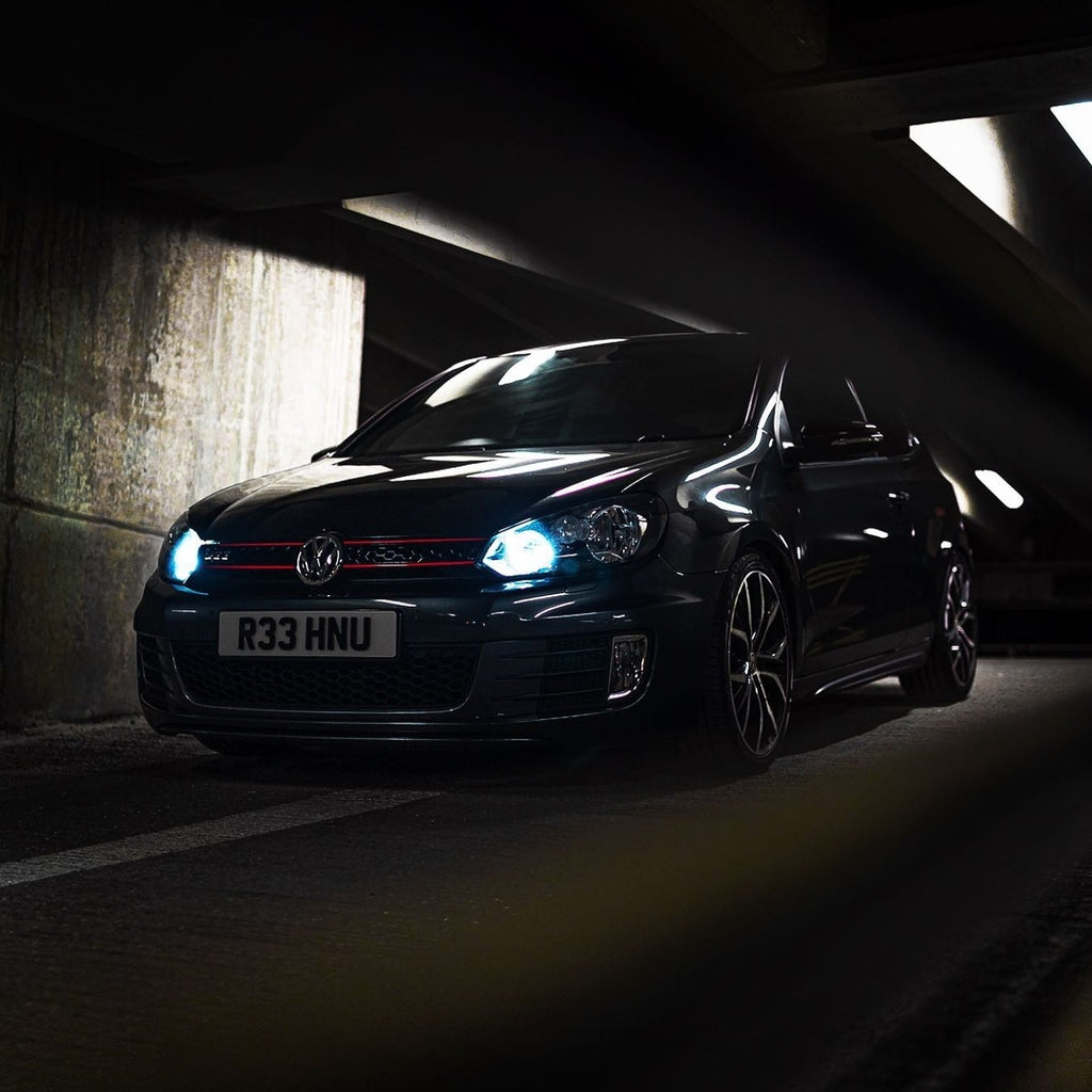 4D plates for this MK6 VW Golf GTI