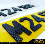 Carbon 4D 3mm Acrylic Plates