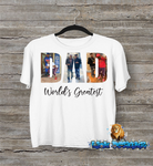Father's Day Collage Shirt