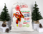 Custom Flash Santa Sack