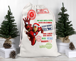 Custom Iron Man Santa Sack