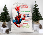 Custom Spider Santa Sack