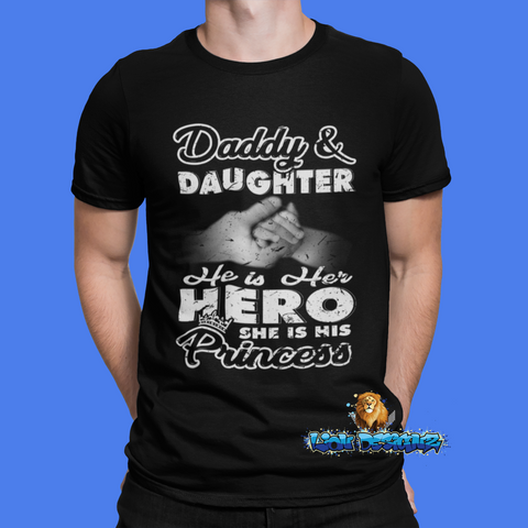 Dad is her hero