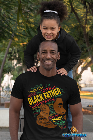 Black Father Image Collage