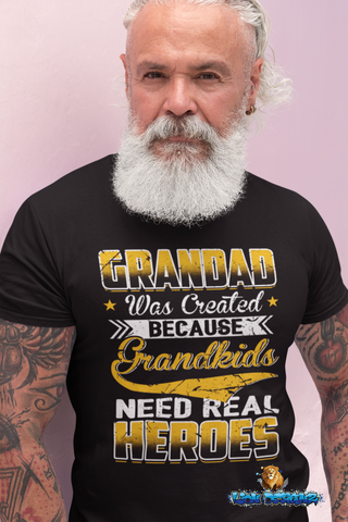 Grandkids need real heroes