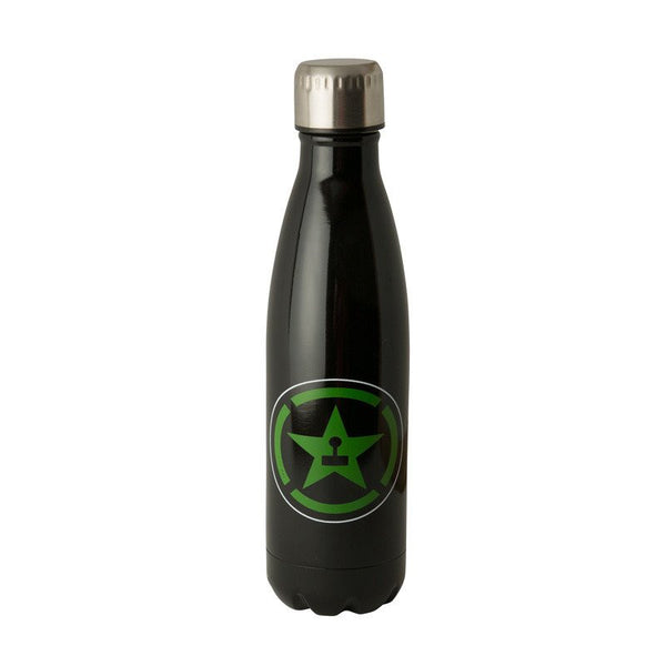 AH BLACK STAINLESS STEEL BOTTLE