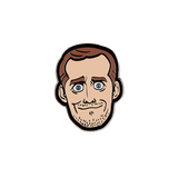 FUNHAUS JAMES ENAMEL PIN