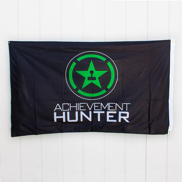 ACHIEVEMENT HUNTER LOGO FLAG