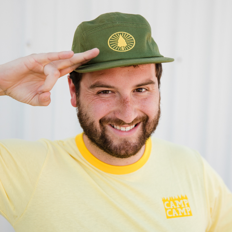 Camp Camp Campe Diem 5 Panel Hat