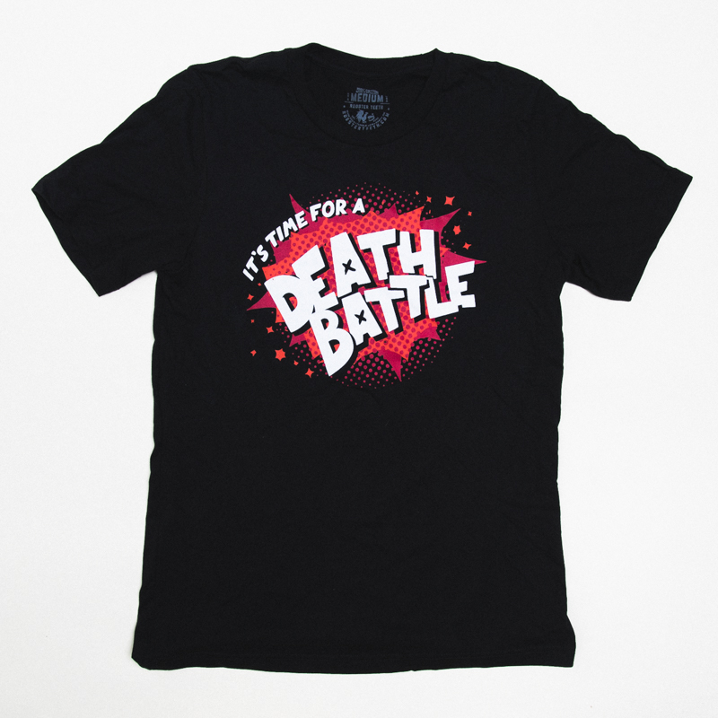 Death Battle Comic Pop Art Tee