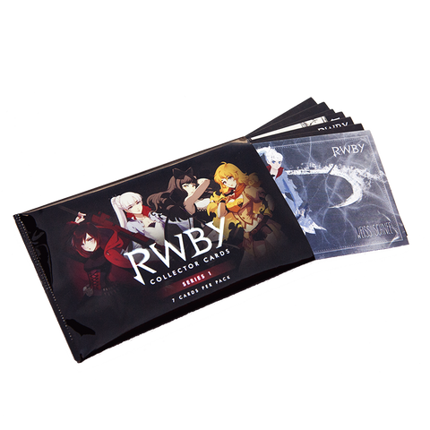 RWBY COLLECTOR CARD PACK (INDIVIDUAL)
