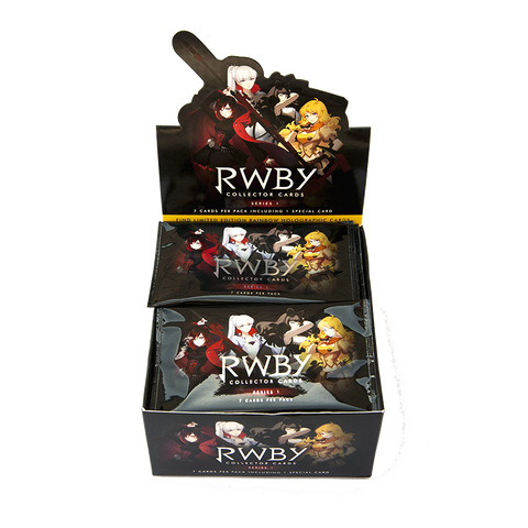 RWBY COLLECTOR CARD PACK (PACK OF 36)
